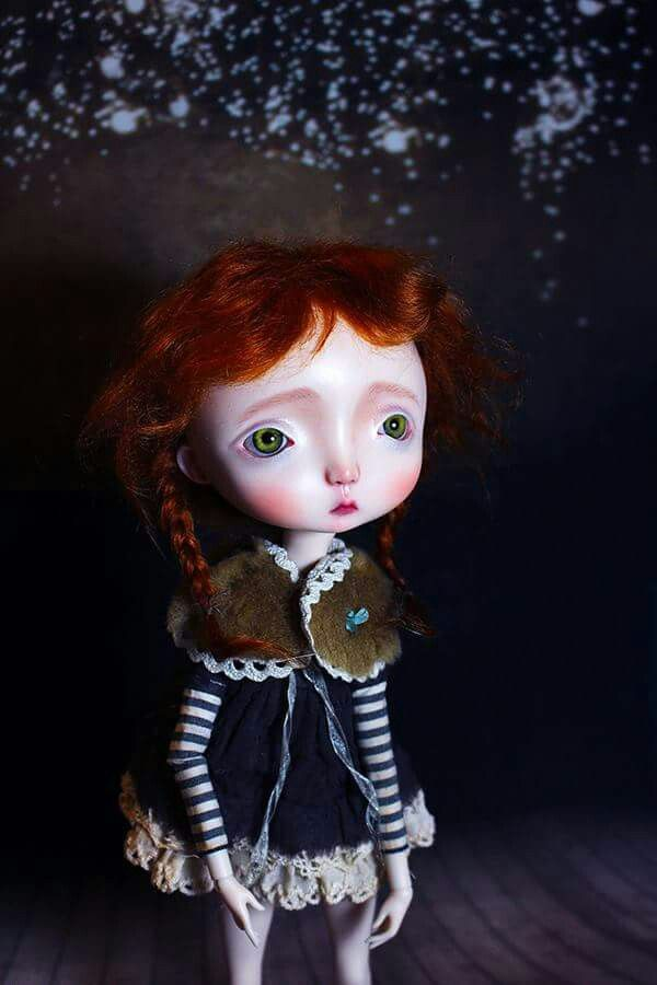 Art doll by Nefer Kane