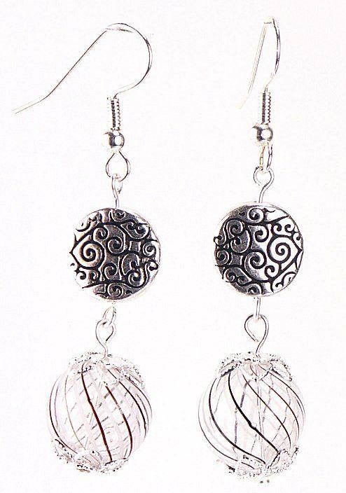 jewelry making idea  elegant evening earrings