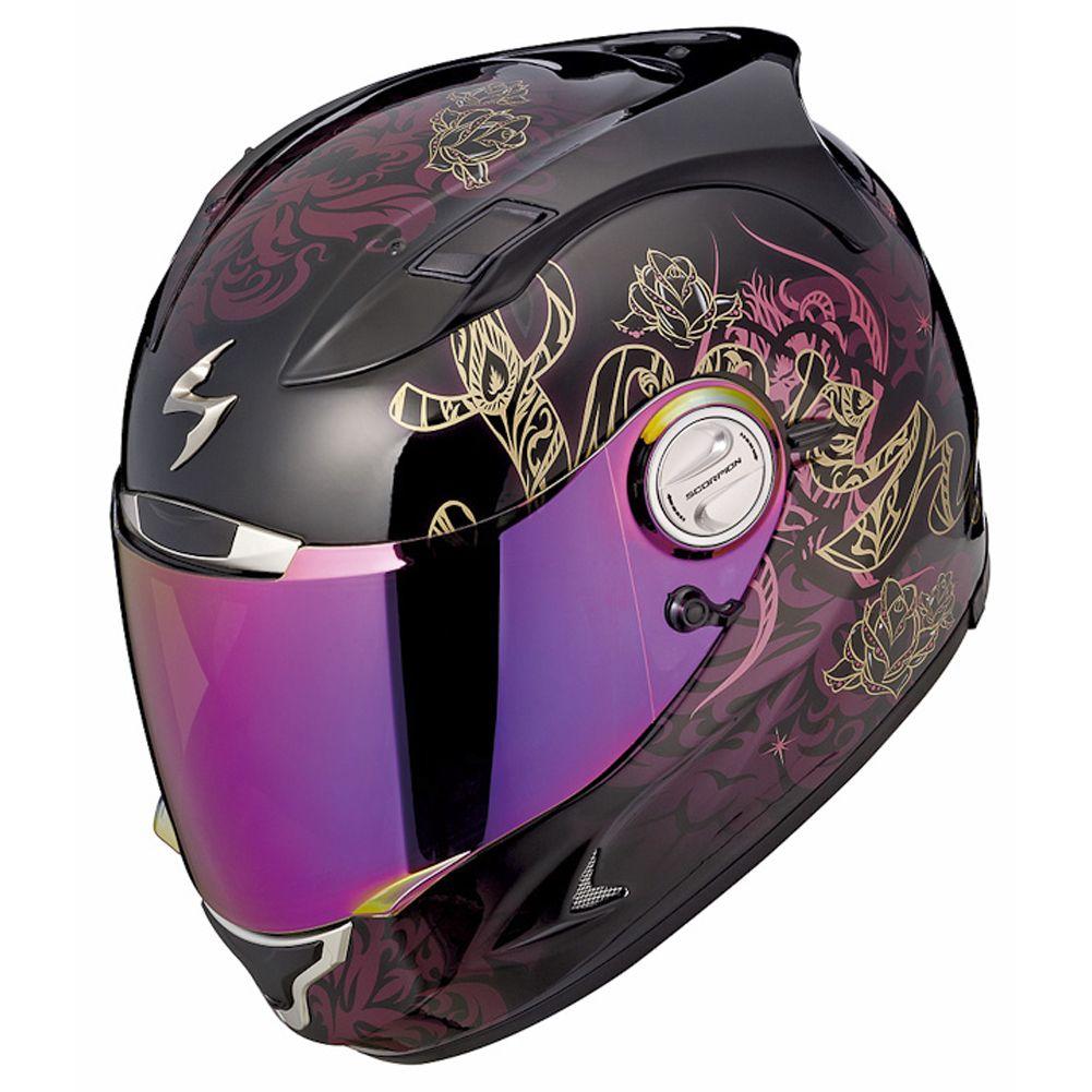 Interesting visor. Wonder how it wld affect vision