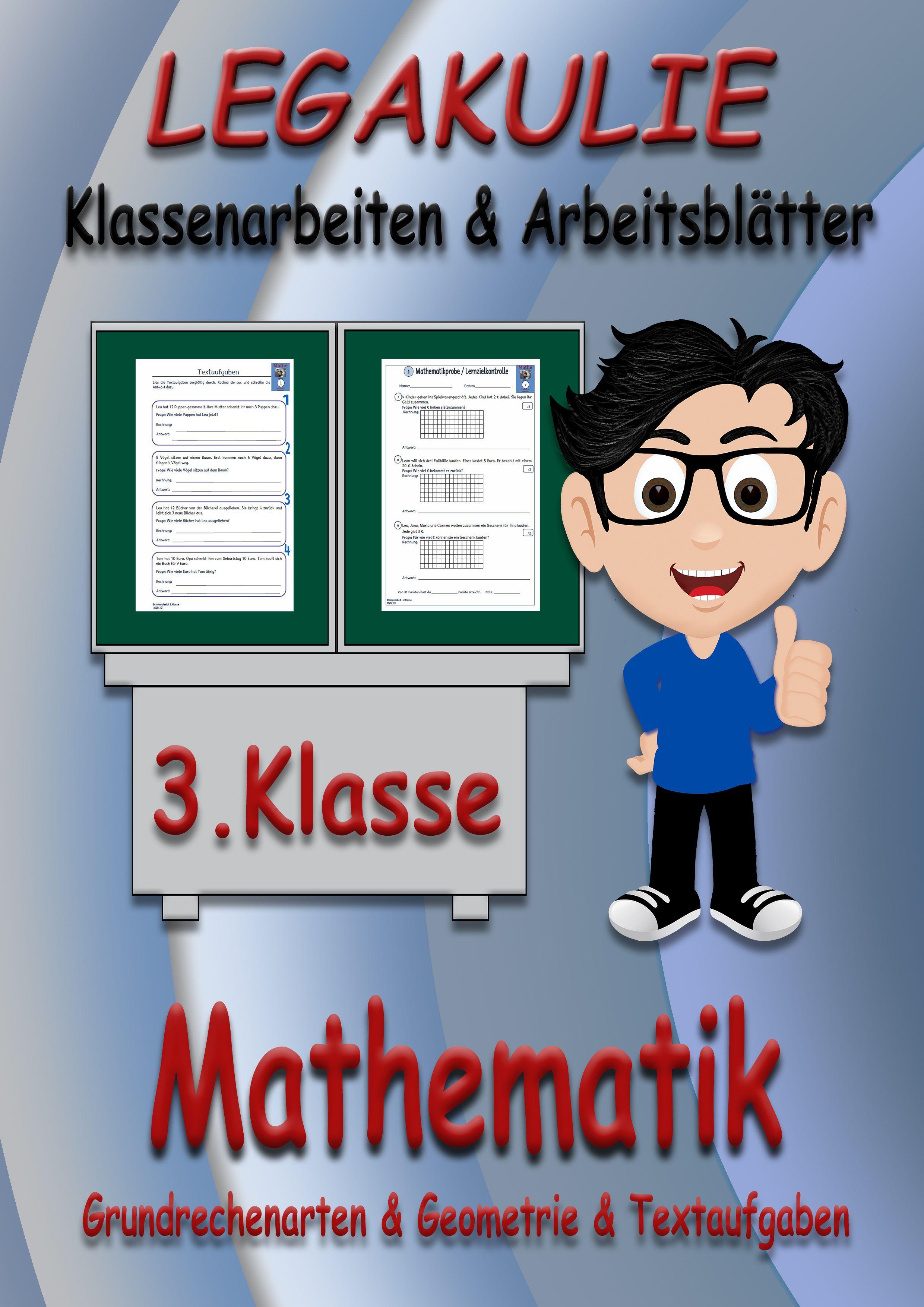 Mathematik #3Klasse #Arbeitsblatt #PDF Arbeitsblätter / Übungen ...