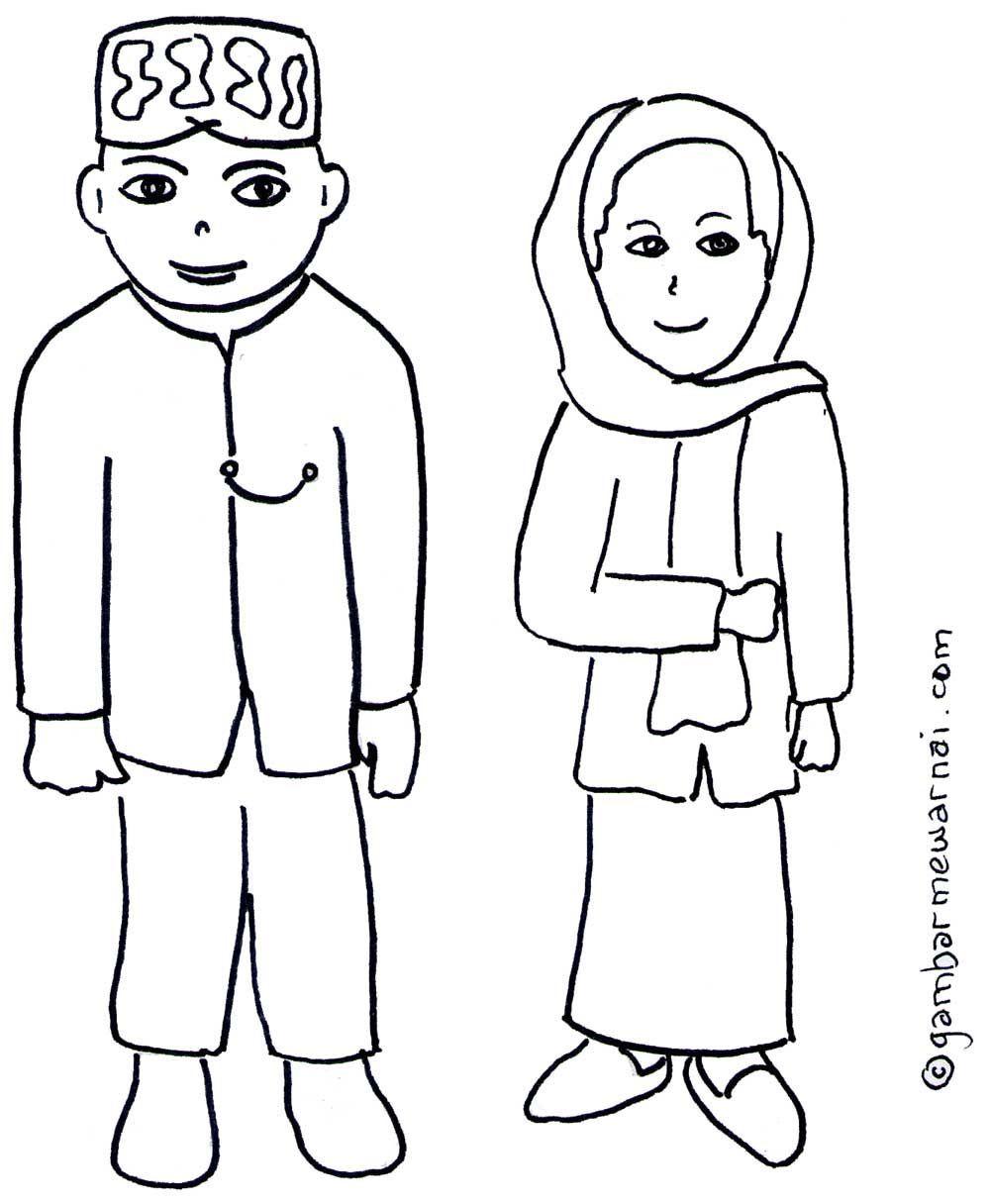 Gambar Pakaian Adat Dki Jakarta