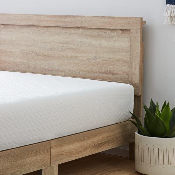 Brookside Leah Classic Wood Platform Bed (Burnt Dr