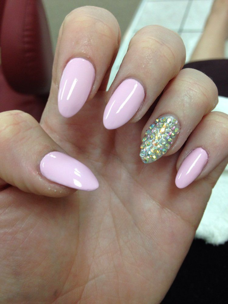 almond shaped nails - Google Search | Nails | Pinterest | Almond ...