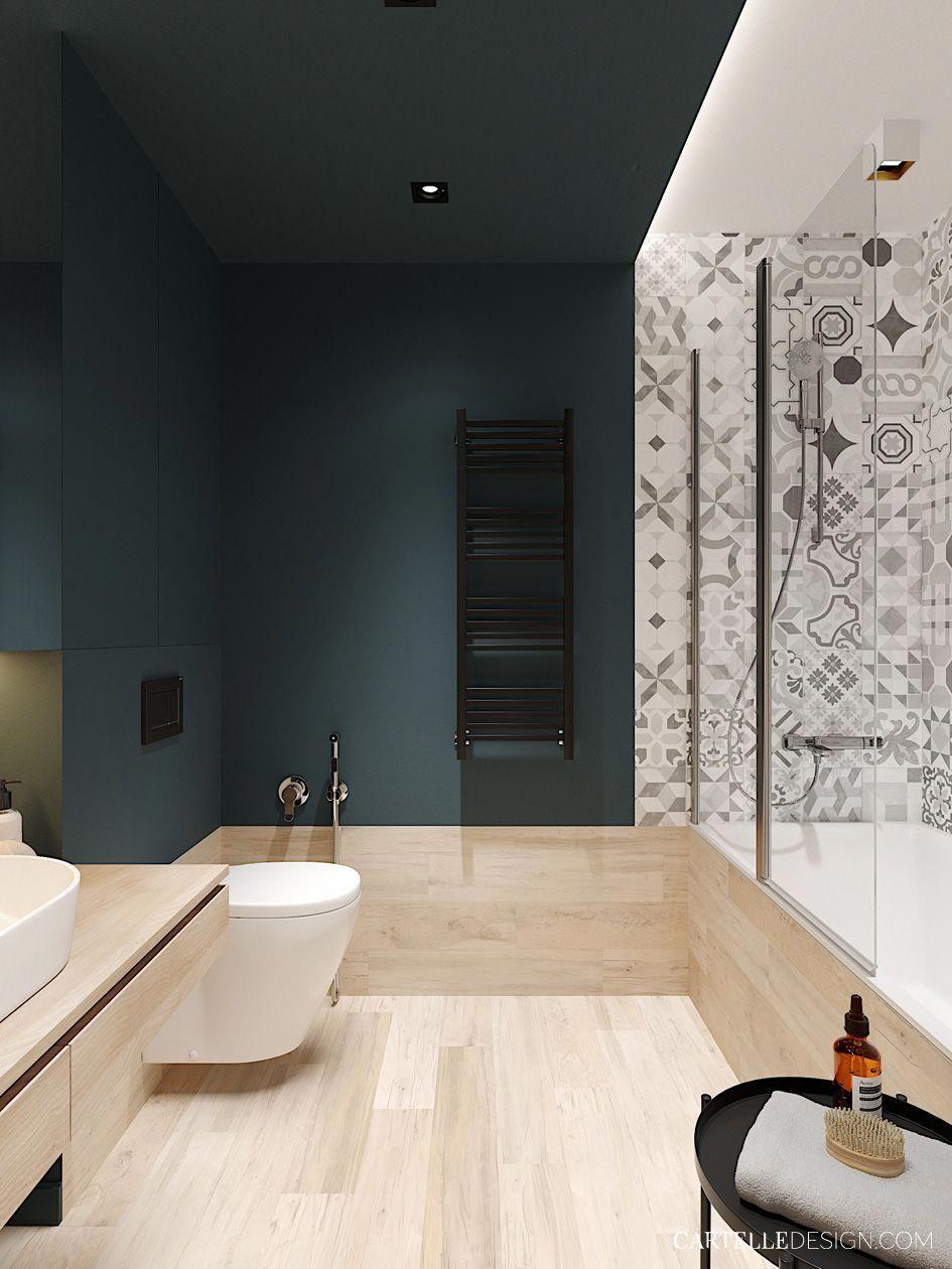 Modernbathroomsdesign Kleines Bad Dekorieren Badezimmereinrichtung Badezimmer Innenausstattung