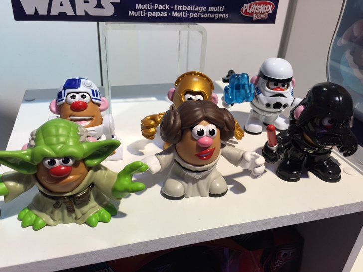 Pin for Later: See All 170+ Brand-New Toys Your Kids Will Be Begging For This Year Mr. Potato Head Star Wars Mashups Mr. Potato Head will expand it's line of Mashups to include some of the cutest Star Wars figures we've ever seen.
