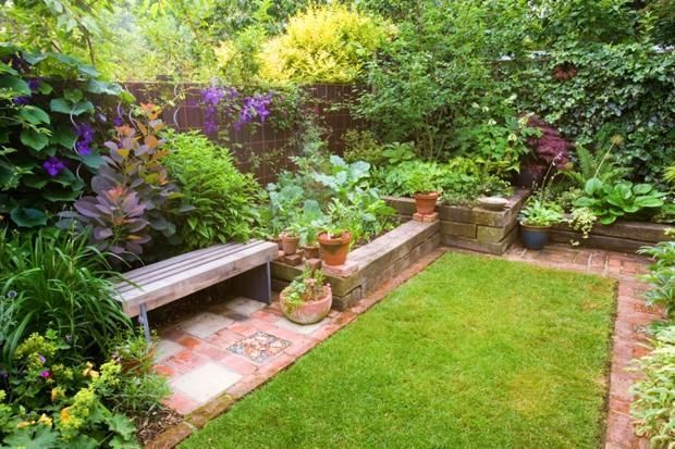 Courtyard garden Budget - How to create the perfect small ... on Courtyard Ideas On A Budget id=44895