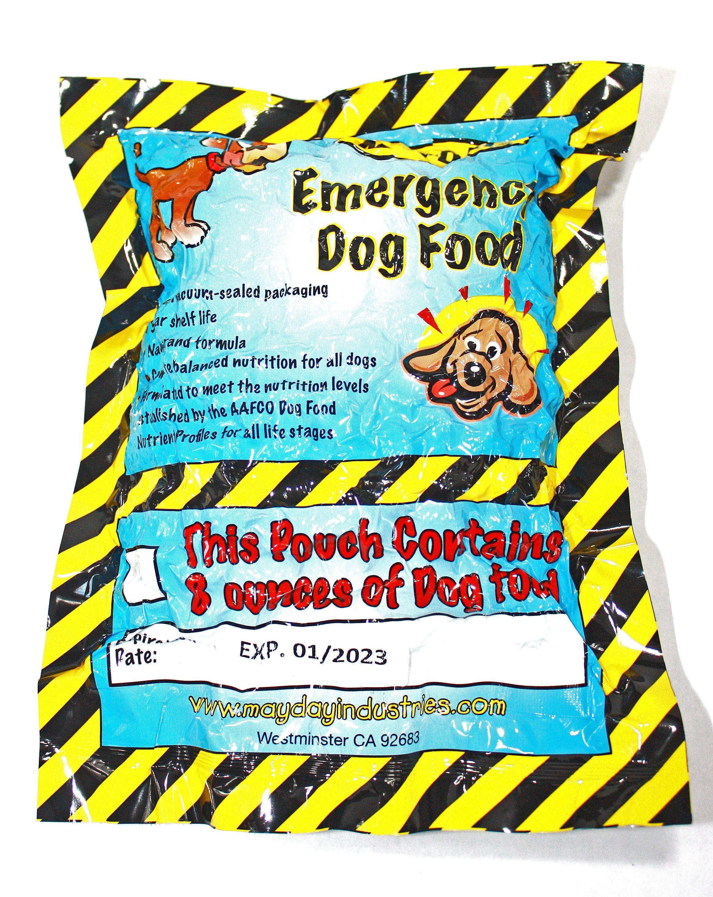Mayday Emergency Dog Food Ration Dog food recipes