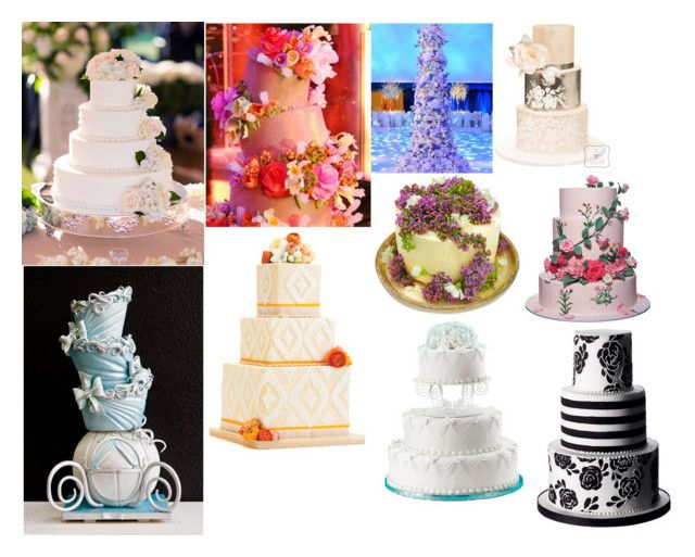 """epic wedding cakes for most themes"" by daddysgurl52901 on Polyvore"