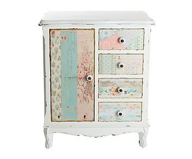 Mueble auxiliar en madera de pino y DM - multicolor   DRESSERS ...