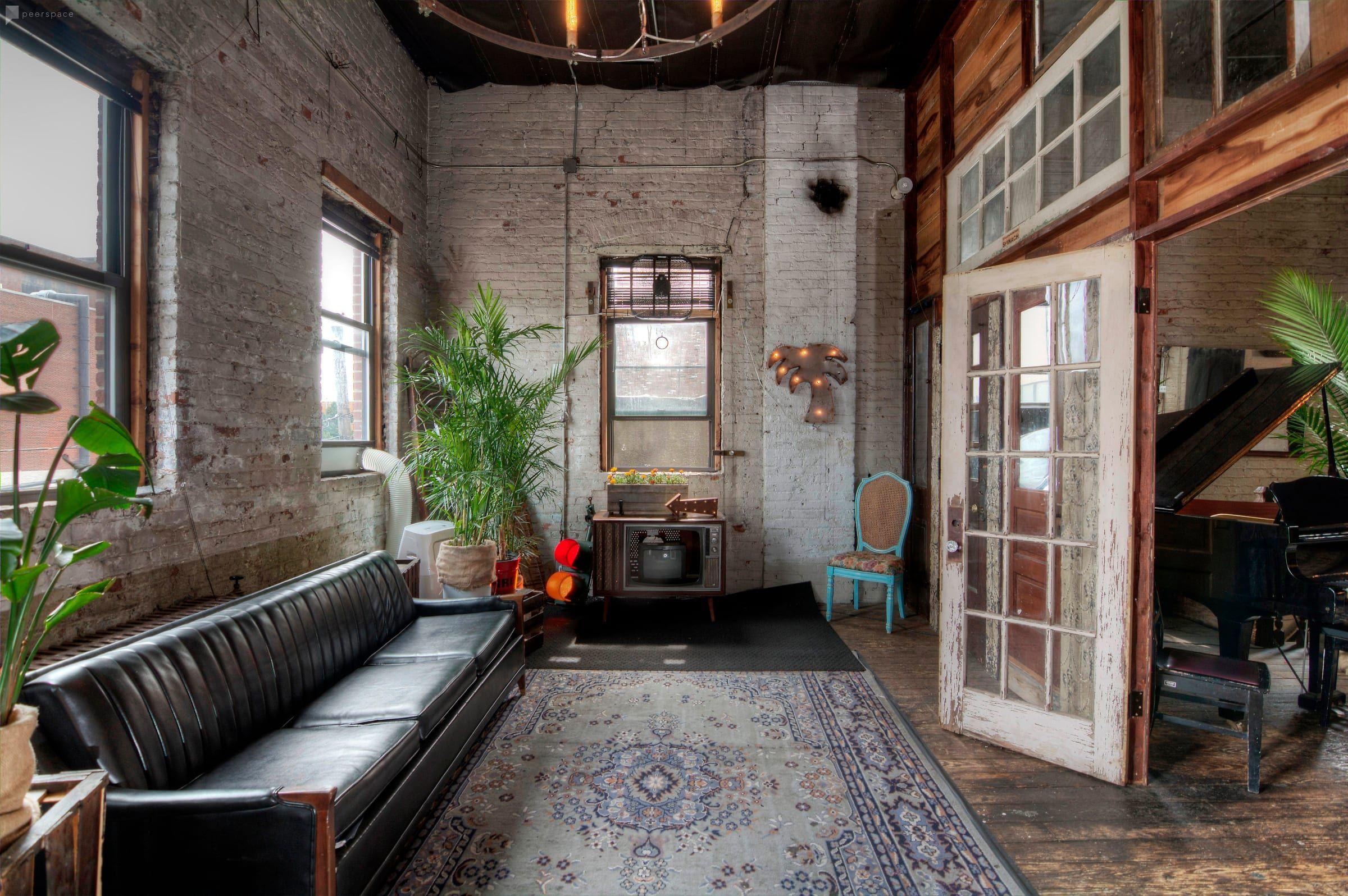 Versatile, Unique Bohemian Loft & Roof Deck in Brooklyn