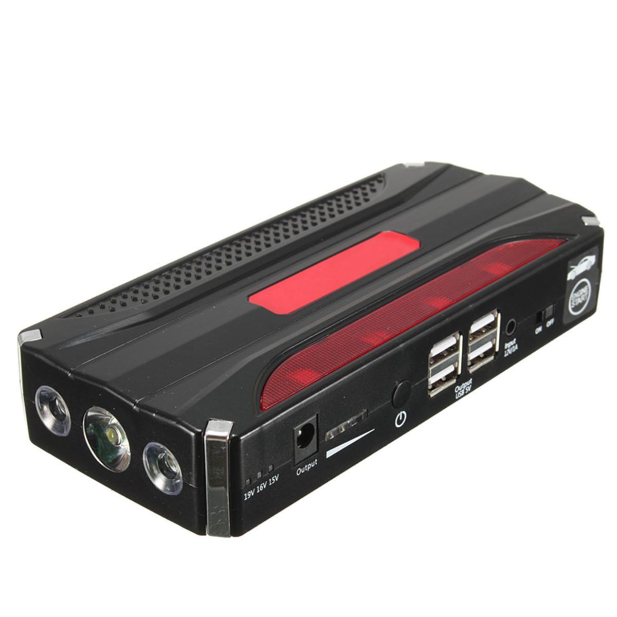 80000mah 12v Car Jump Starter Power Bank Rechargable Battery 4usb Multi Function Powerbank Rechargeable Batteries Car