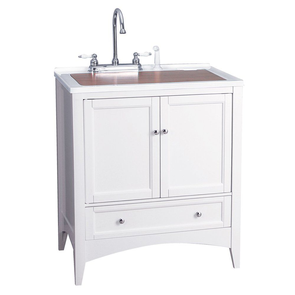 Foremost Groups Bewa3021d Berkshire 30 Inch Laundry Sink Vanity