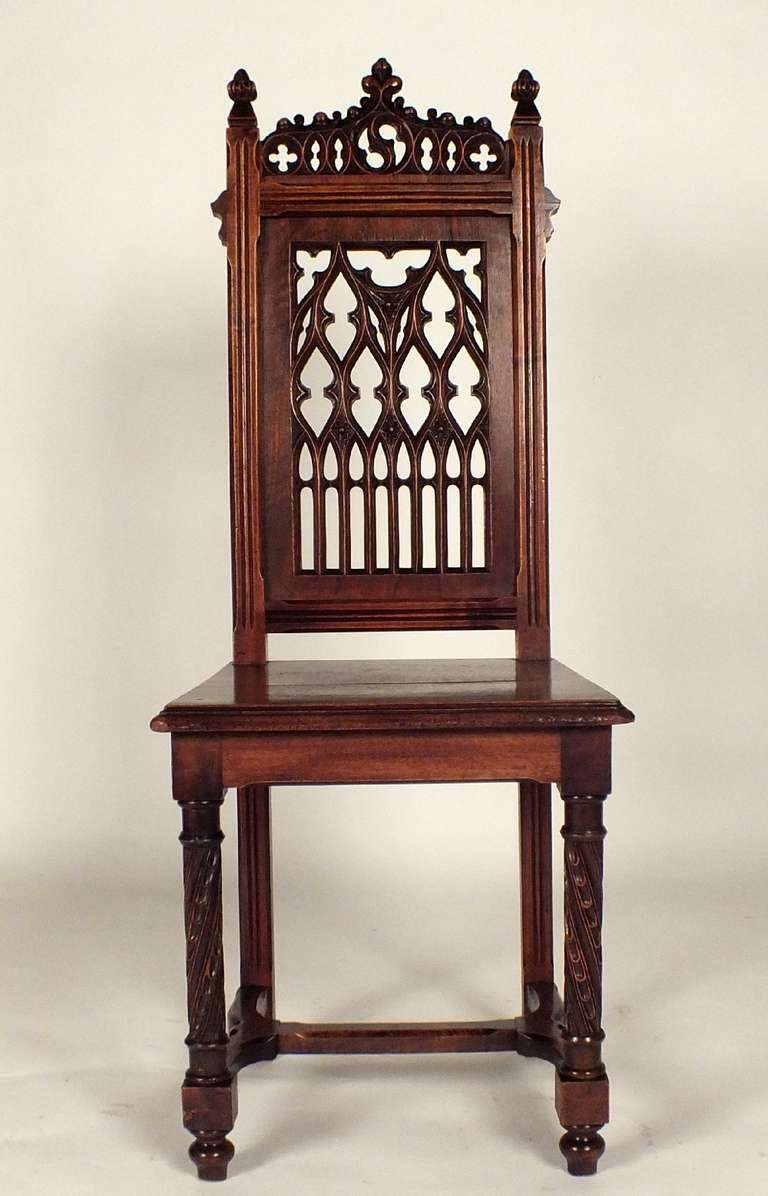 1900s gothic dining chair chair vintage dining room