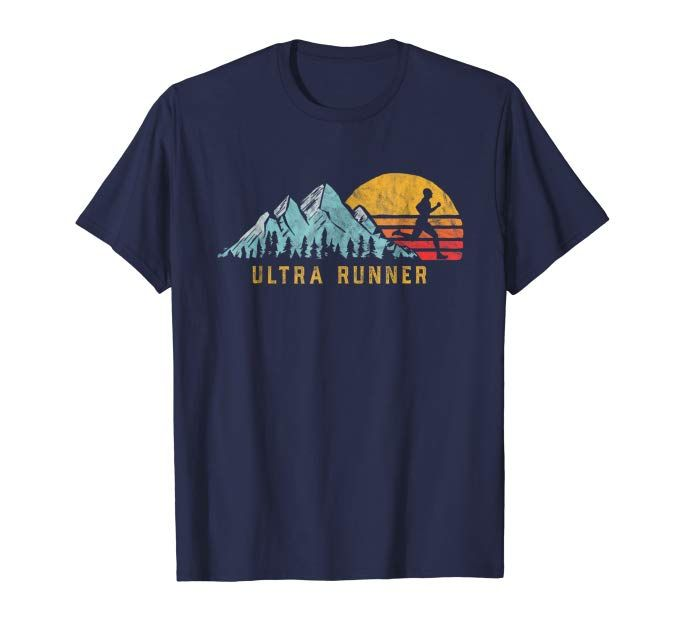 Ultra Runner Retro Style Vintage Ultramarathon T Shirt