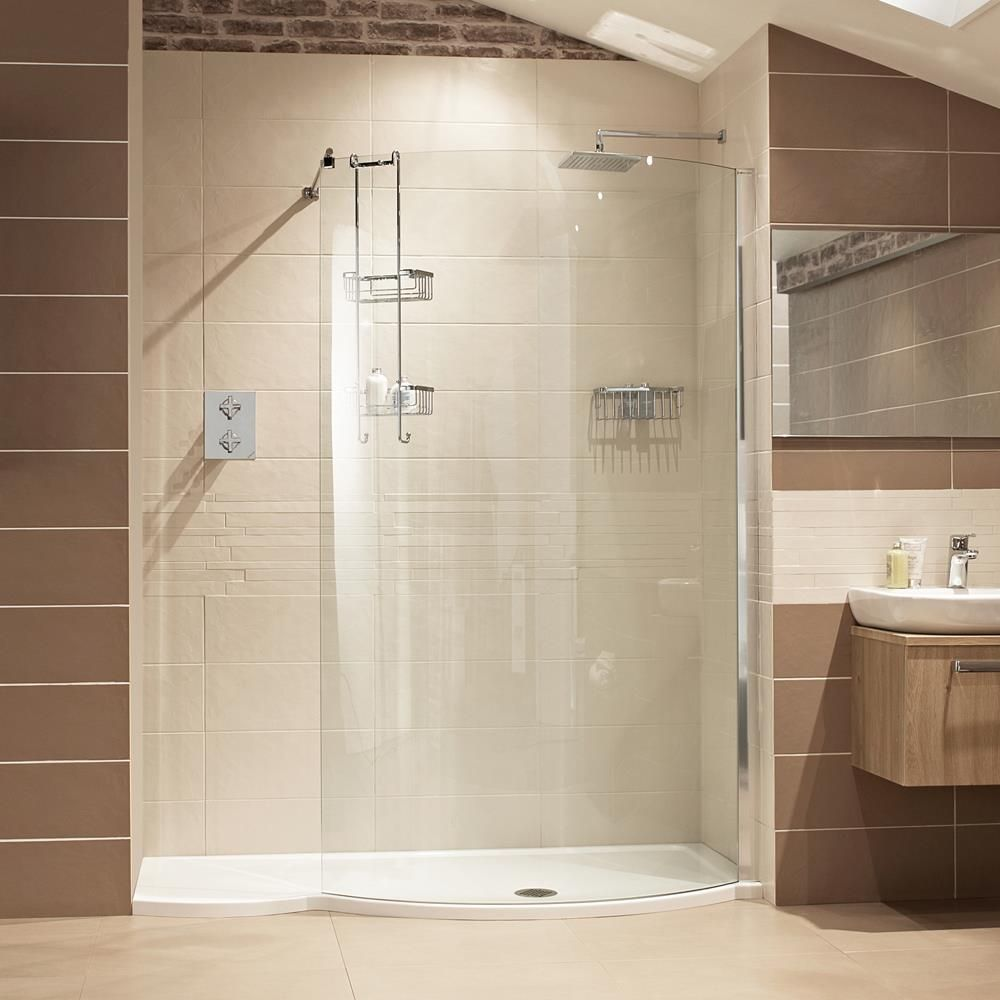 Lumin8 1700mm Colossus Shower Enclosure --- Perfect bath replacement ...