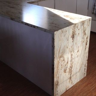 Image Result For Waterfall Formica Countertops