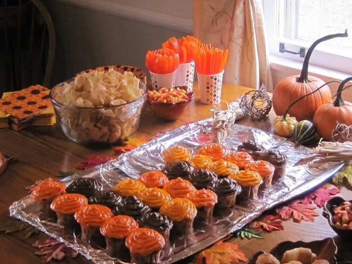 Pin By Becka Eppley On Party Ideas Fall Birthday Parties Birthday Halloween Party Fall Birthday