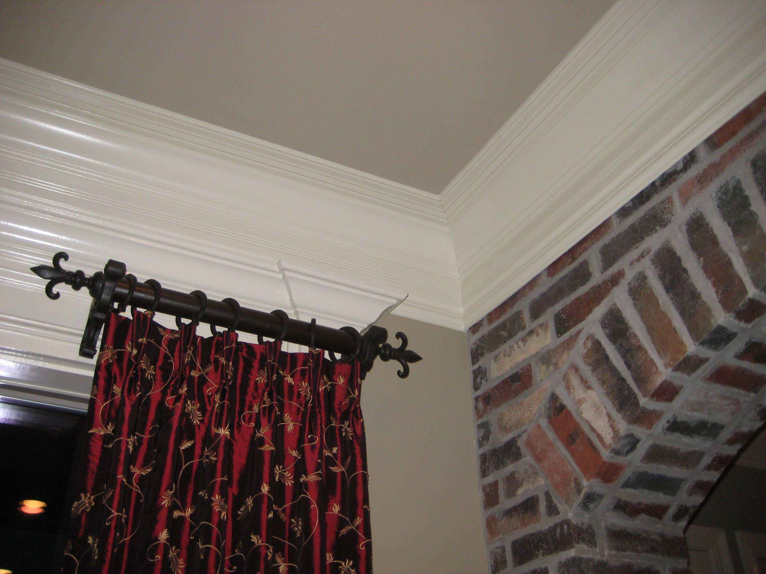 custom t supply drapery mini store rods curtains bay the hardware curtain from window rod