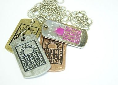 Shine Dance Festival Dog Tags