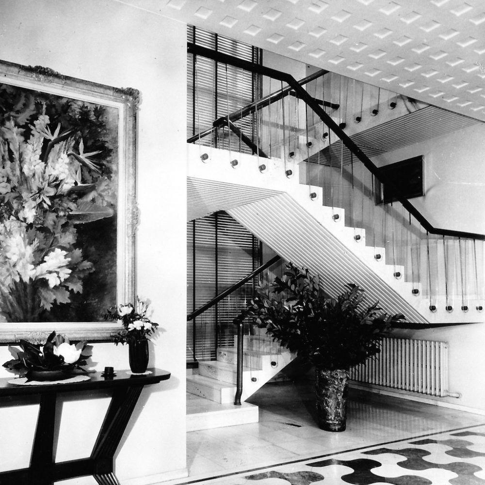 Villa Borsani 1943 Mid century interior design