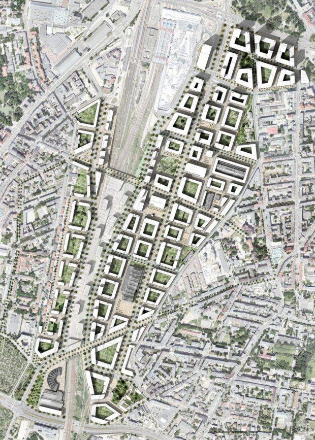 Zdjęcie numer 18 w galerii - Projekt zagospodarowania terenów pokolejowych w Poznaniu [WYNIKI KONKURSU] #urbanesdesign