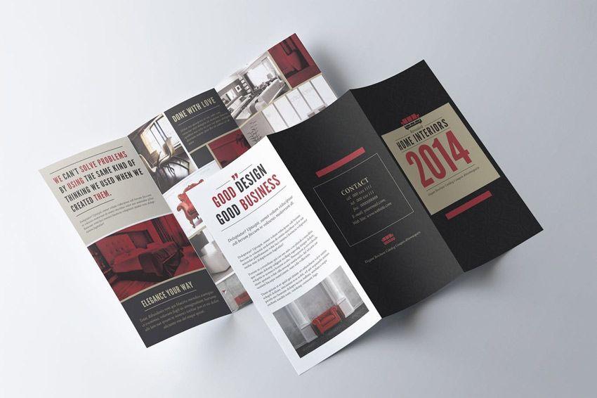 Trifold Brochure Template design Pinterest Brochure template