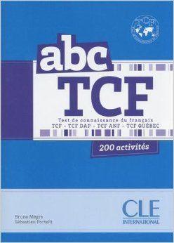 Abc tcf test de connaisance du francais livret cd audio french abc tcf test de connaisance du francais livret cd audio french edition fandeluxe Images