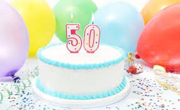 50th Birthday Invitation Text Message