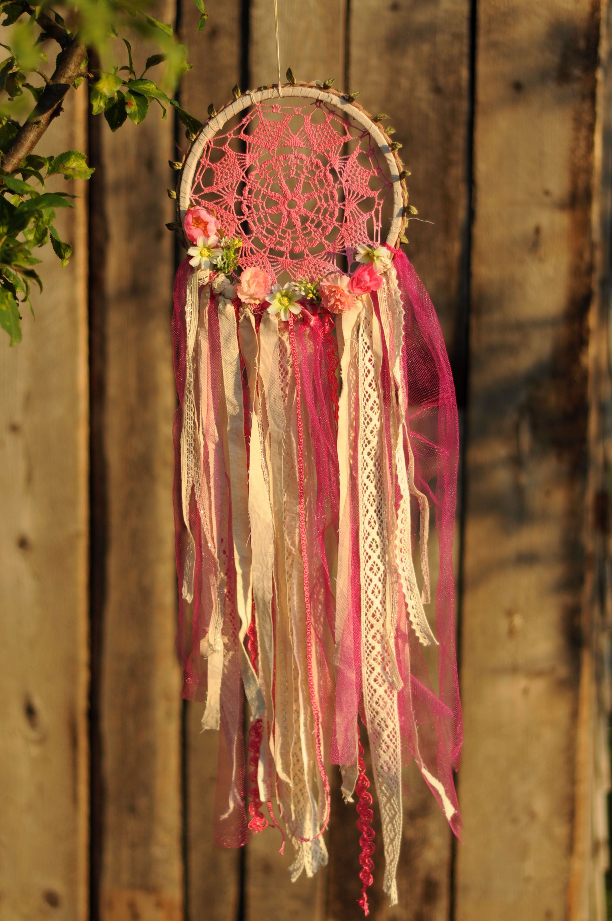 Kvetava#Dreamcatchers#Flower decorations