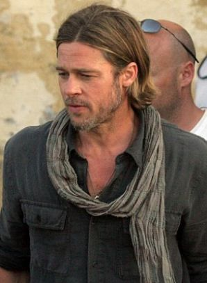 Pin By Missy Crenshaw On Favorite Movie S And Actors Brad Pitt Brad Pitt News New Zombie Movies