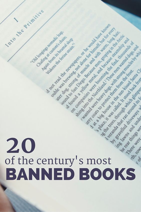 20 Of The Century S Most Banned Books Modern Mrs Darcy Banned Books Banned Books Week Book Club Quote