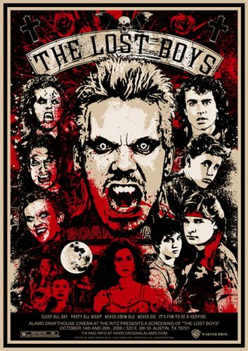 The Lost Boys Alamo Drafthouse Movie Poster