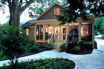 Suburban Cottage - traditional - Exterior - Other Metro - LS3P | Neal Prince Studio - there aren't words. love this so much!
