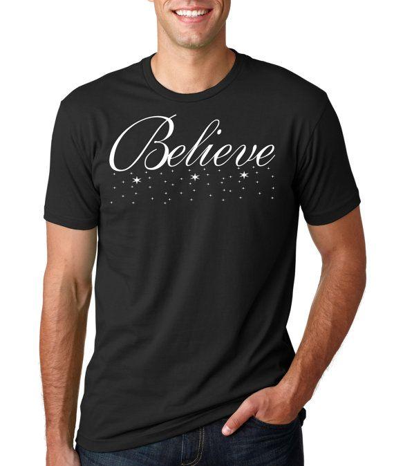 Believe ShirtBirthday Shirt Dad ShirtChristmas T Rad Shirts Polar Express