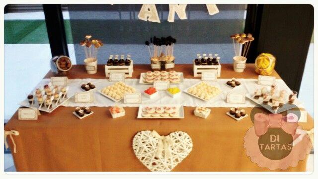 Mesa dulce boda.