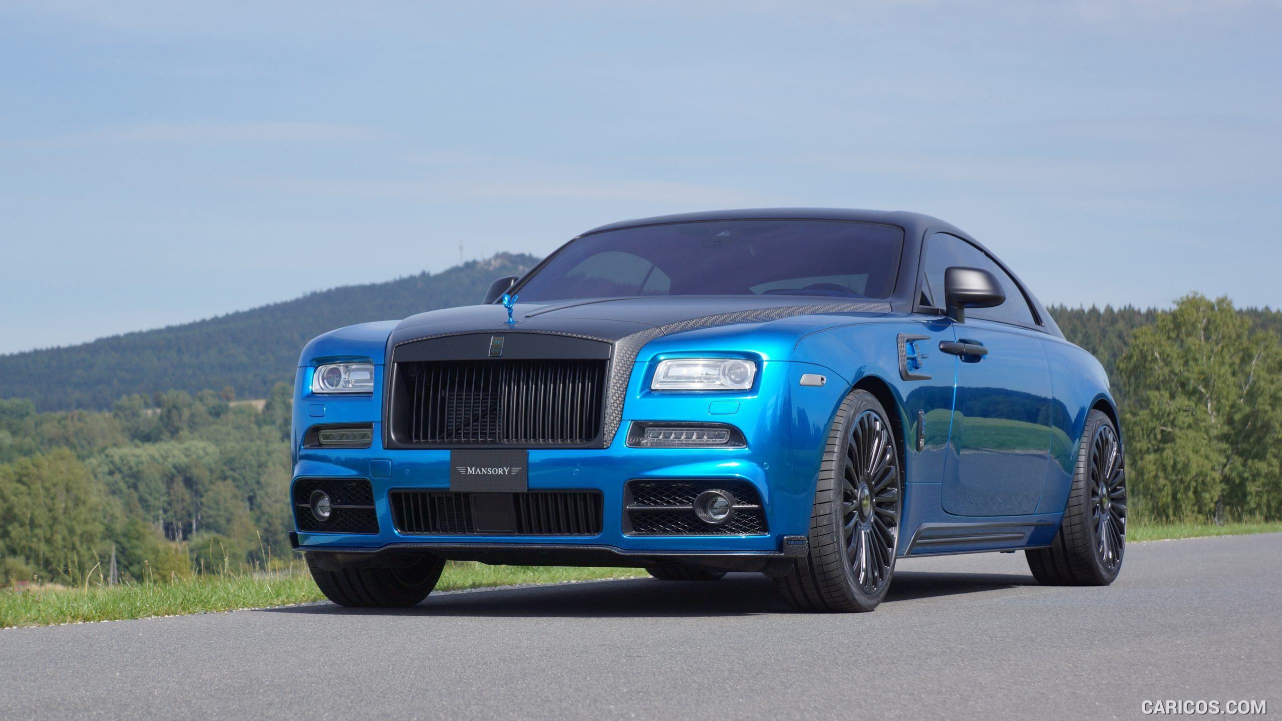2015 MANSORY BLEURION Based On Rolls Royce Wraith Wallpaper