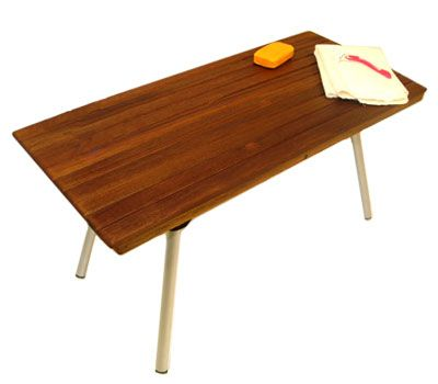 This lovely Teak shower bench is portable, with folding legs so you ...