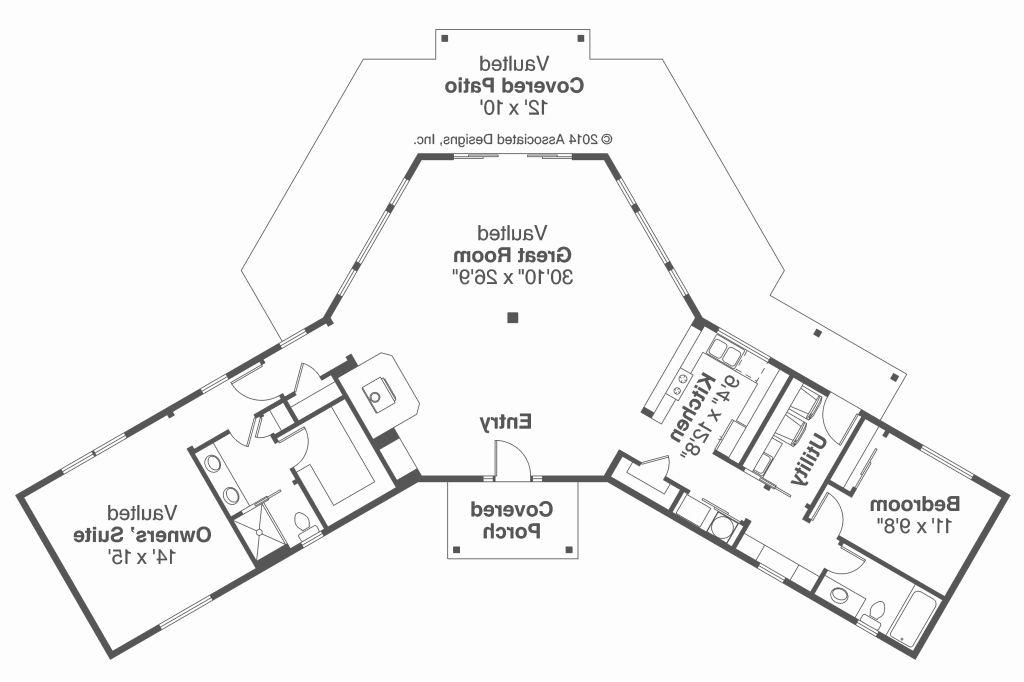 Fancy V Shaped House 11 New L Shaped House Plans - House ...