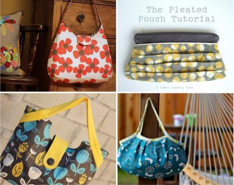 Purse Tutorial ~ 15 Fabulous Free Bag Patterns | Schnittmuster ...