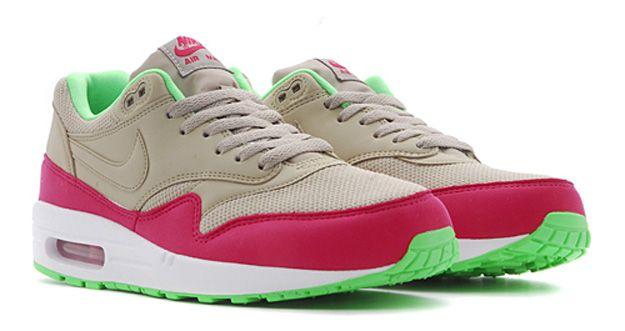 Nike Air Max 1 Bamboo Fuchsia Force Poison Green | Nike Air