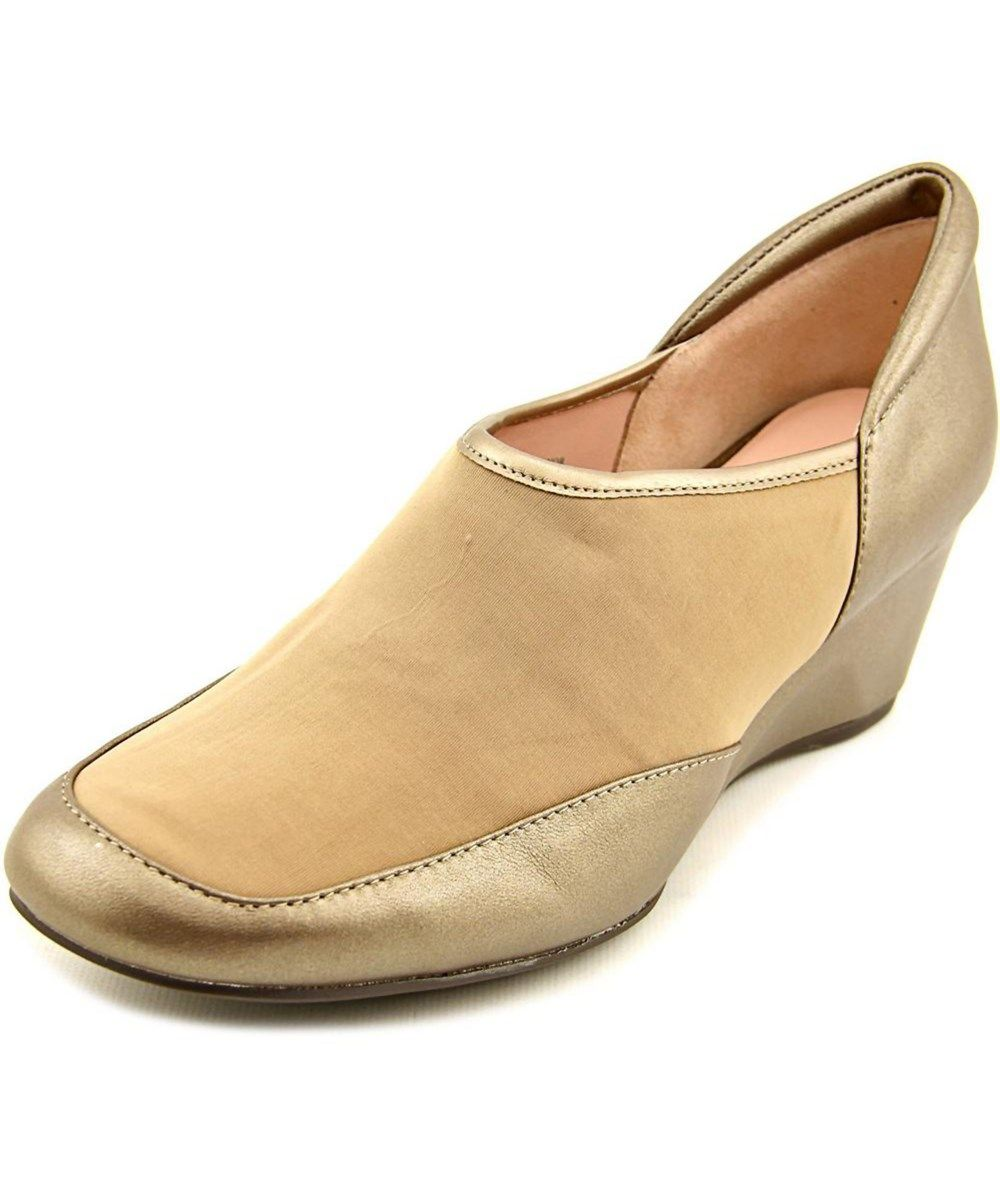b9695c0a24 TARYN ROSE Taryn Rose Radnor Open Toe Leather Wedge Heel'. #tarynrose #shoes  #pumps & high heels