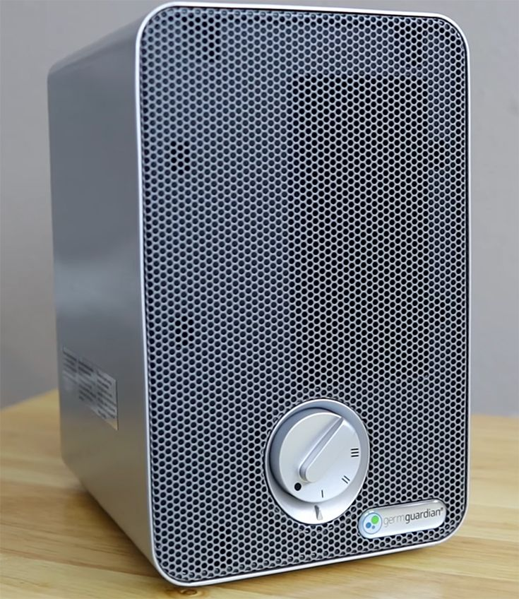 TheHomeDweller Desktop air purifier, Filter air purifier