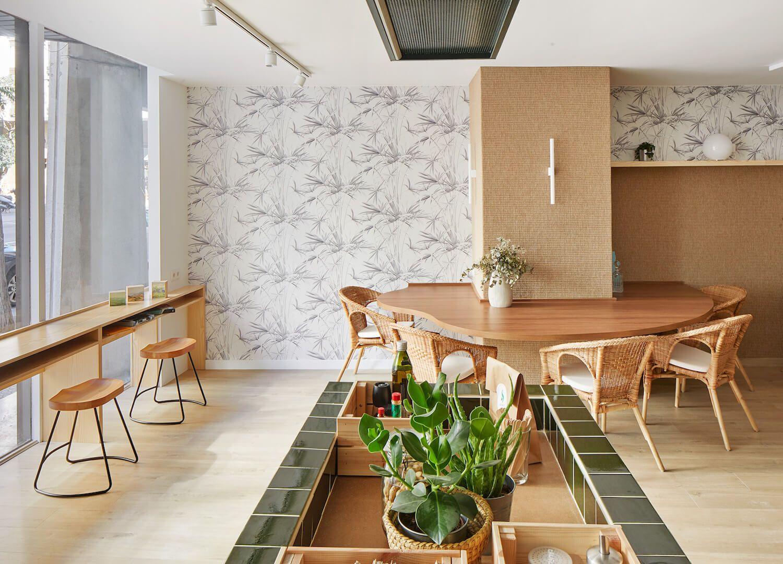 Verd Go Cafe By Scala Studio Cafe Interior White Interior
