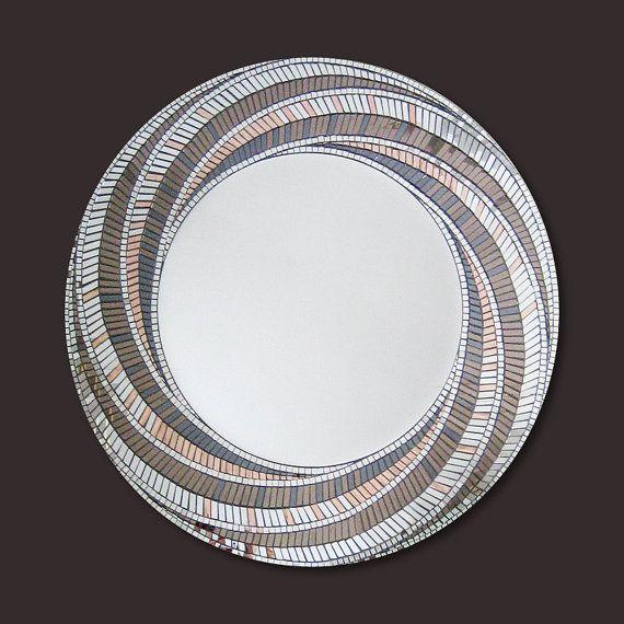 Bronze Mirror Art, Mosaic Mirror, Art Deco, Wall Mirror, Bedroom ...