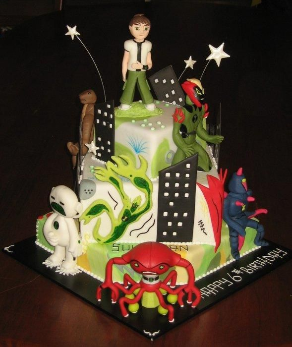 This Cake Was Made A Couple Of Years Ago So The Aliens Are No
