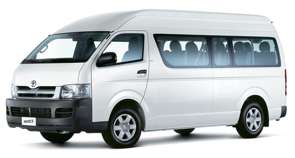 Cancun Airport Transportation Toyota Hiace Toyota Car Rental