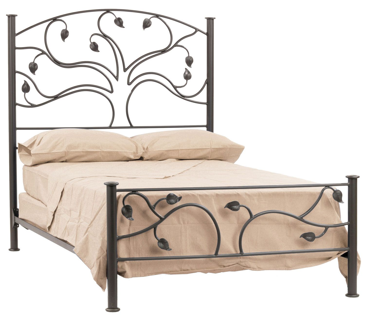 Stone County Ironworks Live Oak Bed King Size Complete