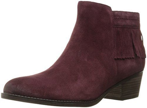 Naturalizer Womens zeline Suede Pointed Toe Ankle Fashion Boots, Bordo,  Size 6.0