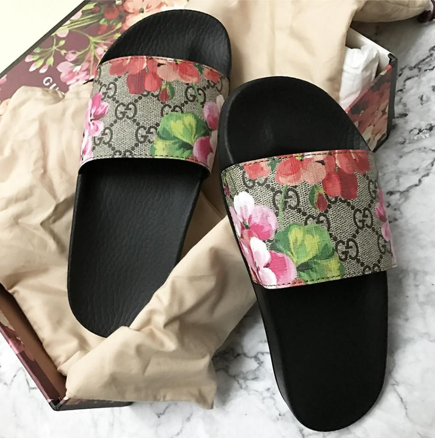 Gucci Casual Fashion Women Floral Print