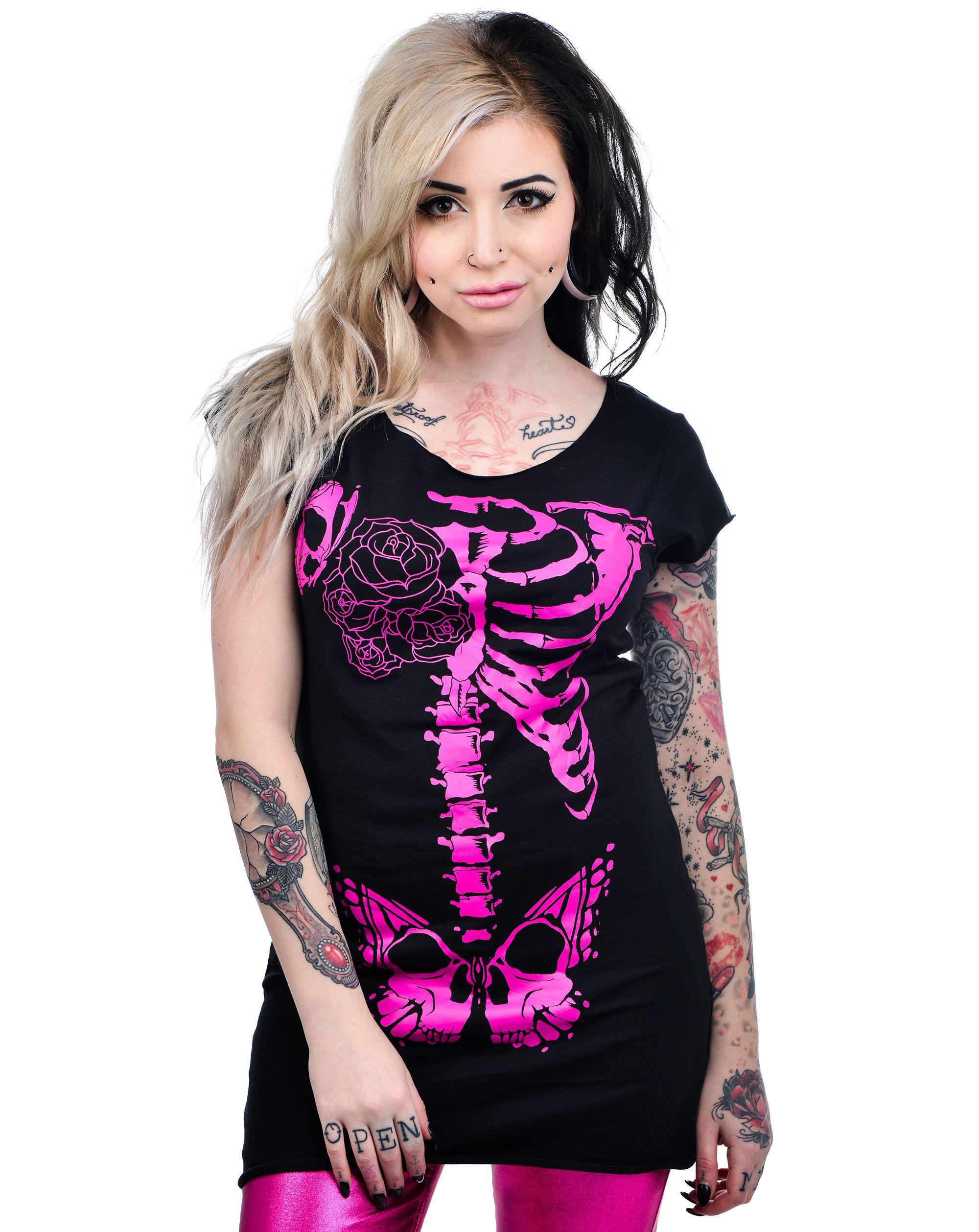 Butterfly Pelvis Ribcage Shirt